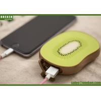 China Long Lasting High Capacity Power Bank Fruit Shape 109 X 74 X 20mm Size wholesale