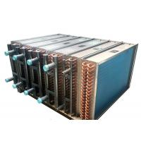 Buy cheap High Durability Copper Tube Fin Heat Exchanger For Chiller Water Cooling Area from wholesalers