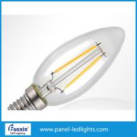 China Plastic 2w 4w Led Bulb Light / Led Filament Bulb For Table Light , Wall Light wholesale