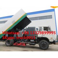 China dongfneg 4*2 RHD 170hp  high quality sweeper truck for sale, best price Dongfeng brand RHD 7tons diesel street sweeper wholesale
