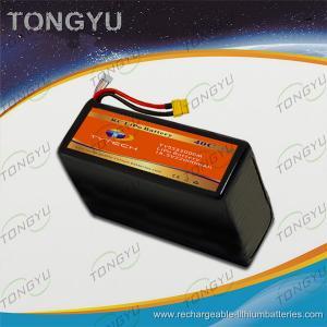 China 40C UAV LiPo 18.5V 22000mAh Rechargeable RC Battery Pack wholesale