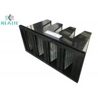 China Mini Pleated Activated Carbon Air Filter For Ventilation System on sale