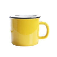 Buy cheap Mixed Color 350CC 12x8.5x8.2cm Personalised Ceramic Mugs from wholesalers