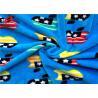 China Minky Plush Fabric 1.5mm Long Pile Polyester Custom Printed Velboa Fabric For Baby wholesale