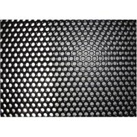 China Square Hole Perforated Stainless Steel Plate , Length 1m Perforated Mesh Sheet wholesale