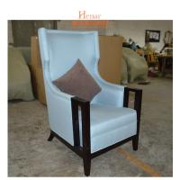 China Modern Living Room Comfortable Hotel Lobby Chair With Fabric Foam Pad wholesale