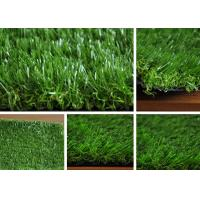China PE Green Imitation Turf Grass Landscaping for Home , High Density wholesale