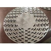 China 9 Diameter Round Stainless Steel Nail Plates Easy To Press Timber 1.2m Thickness on sale