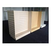 China Customized Slatwall Display Units , Store Display Shelving For Sport Clothing Shop wholesale