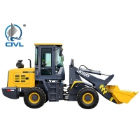 China LW500KV Compact Tractor Front Loader , WEICHAI Engine Front Wheel Loader wholesale