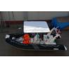China 最も大きく膨脹可能なボート235キログラムの、モーターを搭載するシンプルな設計の膨脹可能な漁船 wholesale