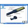 China Estabilidad de la seguridad de la vara de mano del detector de metales/del escáner portátil del cuerpo del detector de metales alta wholesale