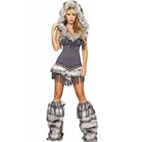 China Womens Captain California adult halloween costumes , Indian fancy dress costumes wholesale
