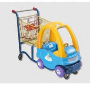 China Inoxidable Plastic Shopping Trolley Kids Shopping Carts Galvanised wholesale