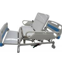 China All Electric Hospital Bed Four Sections PE Bed Board Providing Sitting Position wholesale