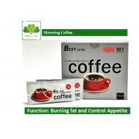 China Natural Plant Extract Brazilian Slimming Coffee , 5 In 1 Fat Burning Coffee OEM / ODE wholesale