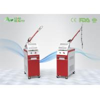 China Two Wavelength Q Switched Nd Yag Laser Tattoo Removal Equipment For Clinic wholesale