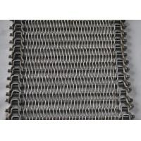 China 304 Stainless Steel Wire Mesh Conveyor Belt For Food Baking , SGS Approved on sale