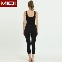 China Wholesales Plus Size Fitness Women Yoga Sets Customized logoSexy Design Yoga Workout Clothes on sale