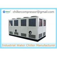 China 400KW Screw Type Industrial Air Cooled Water Chiller for Cooling Water on sale