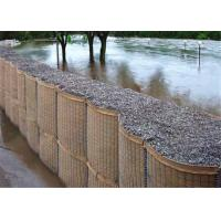 China Professional Hesco Bastion Barrier For Bridge Protection / Flood Bank wholesale