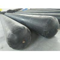 China Black Appearance Inflatable Rubber Balloon High Strength For Concrete Pipe on sale