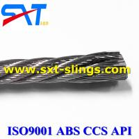China galvanized steel wire rope factory 6*7+IWS wholesale