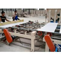 China PLC controlled Sheetrock PVC and Aluminum Foil Double Side Laminating Machine wholesale