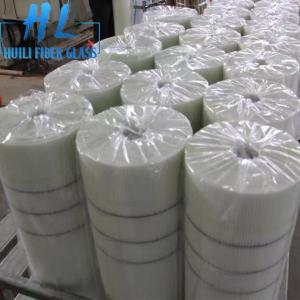 China 10x10mm White Color 110 g/m2 Fiberglass Mesh For Marbles , Long Service Life wholesale