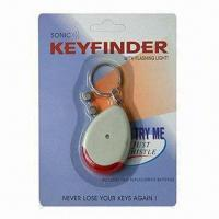 China Key Finder Keychains with ABS Material wholesale