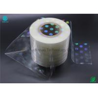350mm Outer Box Clear Bopp Film Roll For Medicine , Cigarette Box Packaging Wrapper Cellophane