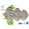 China Comfortable Bamboo Reusable Sanitary Pads , Anti Resistant Organic Reusable Pads wholesale