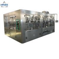 China Automatic 3 In 1 Monoblock Beer Filling Machine Production Line 50 - 80mm Bottle Diameter wholesale