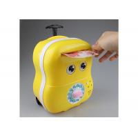 China Lovey Electric Smart Money Saving Box Trolley With Music For Kids Cartoon Style wholesale