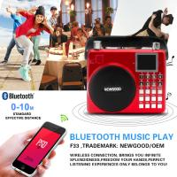 Newgood 20W Bluetooth Outdoor Music Player with Voice recording and Handle