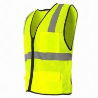 China Safety Vest for Women, Meets EN471, ANSI/ISEA 107-2010 Class on sale