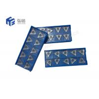China CNC Metal Cutting Tool Indexable Inserts , Diamond Turning Tool PCD/CBN Cutting Inserts wholesale