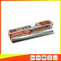 Heat Resistant Household Aluminium Sheet Roll For Food Packing With FDA SGS for sale