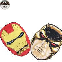 China Marvel Hero Decorative Iron On Patches / Decorative Patches For Jackets wholesale