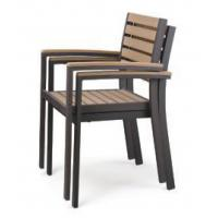 China LJC067 garden outdoor polywood furniture banquet chair wholesale