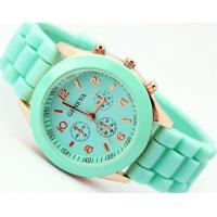 Jelly Colorful Design Fashion Watch Silicone Material for Students