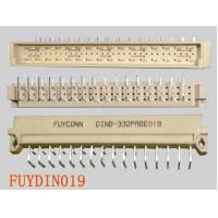China 3 rows 32P Right Angle Male B Type DIN 41612 Connector Plug Euro Socket Connector 2.54mm pitch on sale