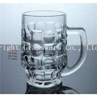 China Special Design Clear Solid Beer Glass Mug on sale
