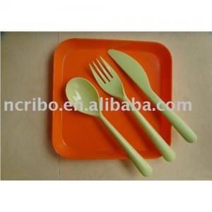 China Disposable plastic tableware set wholesale