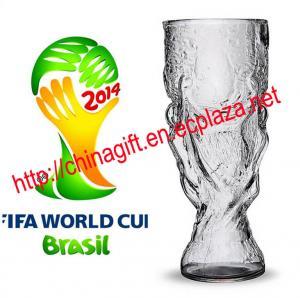 China FIFA WORLD CUP glass beer mug on sale