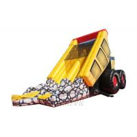 China Inflatable Heavy Dump Truck Slide/Inflatable Dry Slide WSS-246 wholesale