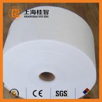 China 10cm Alcohol Swab Spunlace Nonwoven Fabric Great Absorbency And Breathability wholesale