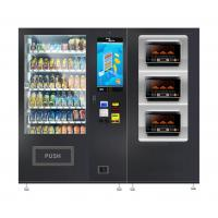 China Noodles Lunch Box Fast Food Snacks Drinks Automatic Vending Machine With Microwave Oven wholesale