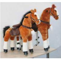 China Amusement Park Equipment Mechanical Pony Kid Ride On Walking Animal Rocking Horses wholesale