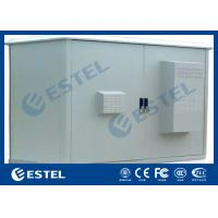 China Two Compartment Cooler Outdoor Communication Cabinets Assembled Structure IP55 on sale
